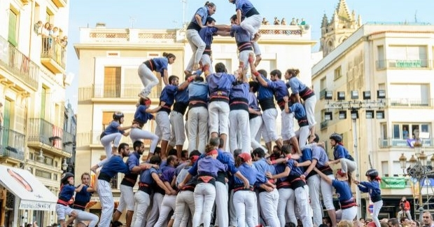 Diades castelleres a Mataró