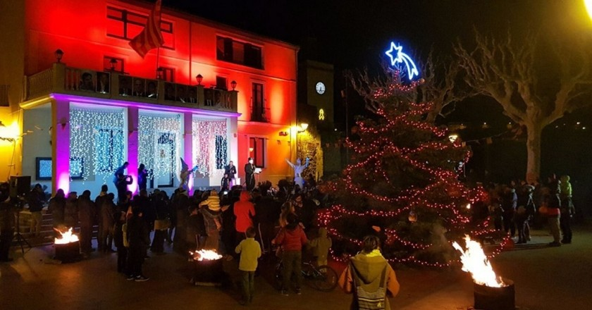 Christmas activities in Gironella