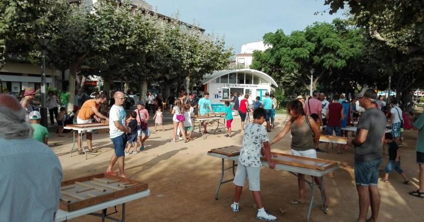 Activitats infantils al Passeig del Mar de Palamós