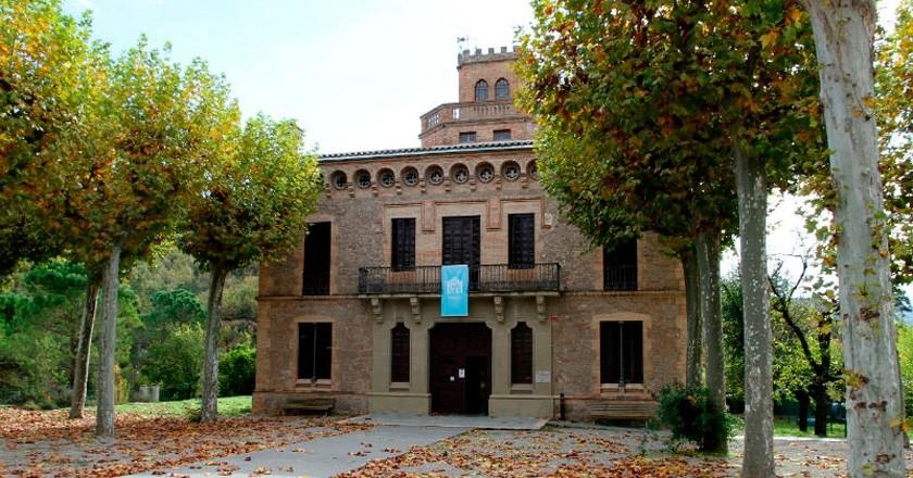 Any Brossa en la Torre de l'Amo de Viladomiu Nou