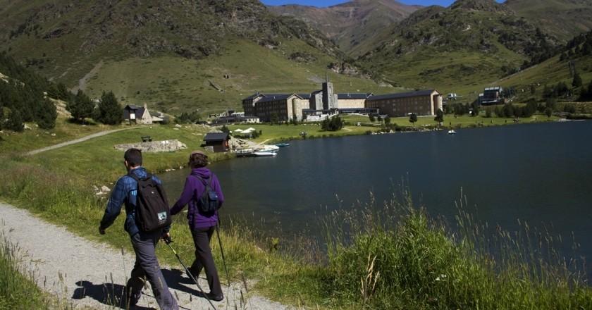 Bateig de Senderisme a la Vall de Núria