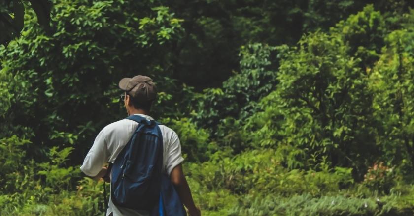 Caminata popular en Conesa
