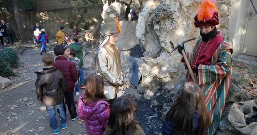 Campamento del Paje Shelín en Sant Feliu de Llobregat