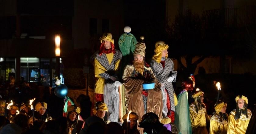 Campamento Real y Cabalgata de Reyes en Cassà de la Selva