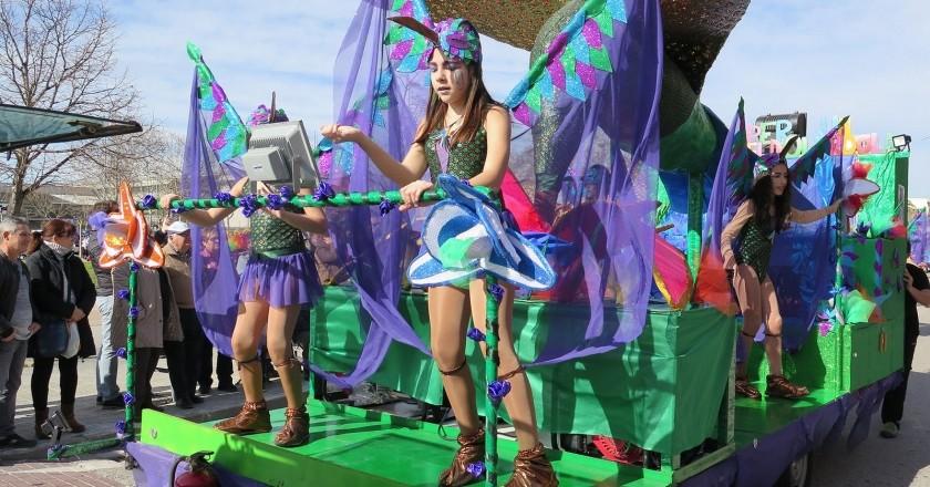Carnaval a Santa Margarida i els Monjos