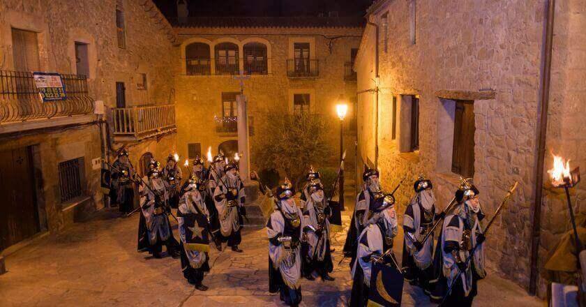 Cabalgata de Reyes de Casserres
