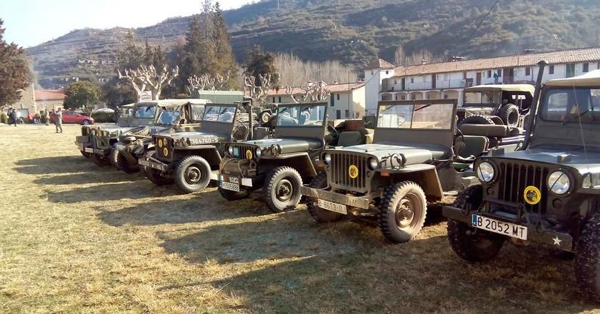 Concentració Internacional de vehicles militars d'època al Guixaró