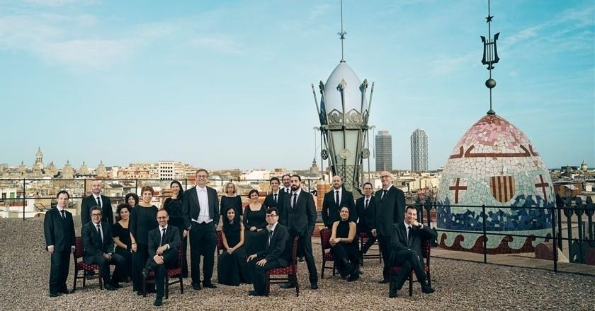 Concert del Cor de Cambra del Palau de la Música al Castell de Concabella