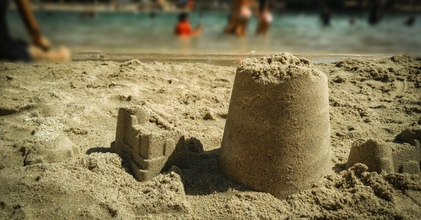 Sand Castles Competition in Altafulla