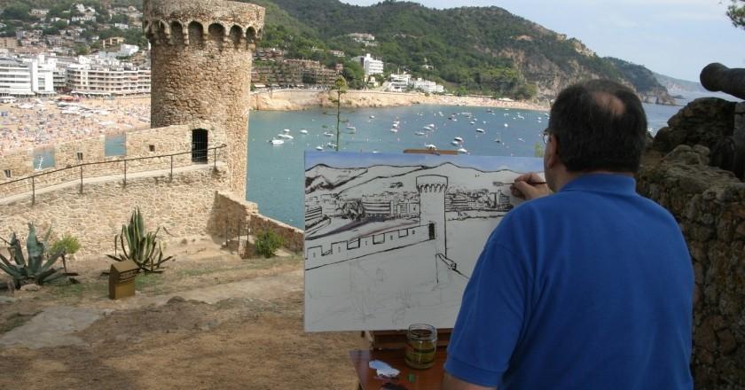 Concurs Internacional de Pintura Ràpida de Tossa de Mar