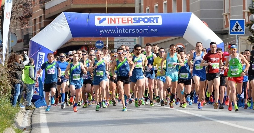 Urban race 5 and 10 km from Berga