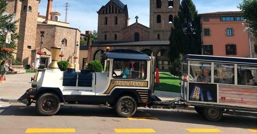 Découvrez Ripoll avec le train touristique