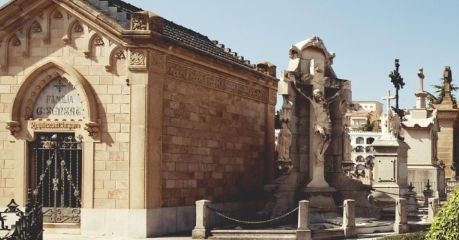 Cimetière El Masnou, un musée à ciel ouvert