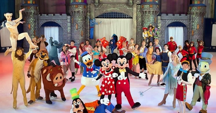 Disney On Ice show in Barcelona