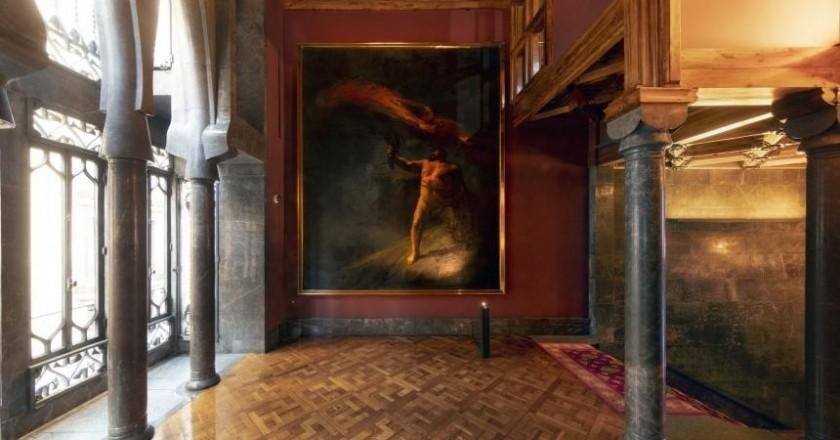 Exposició Aleix Clapés al Palau Güell