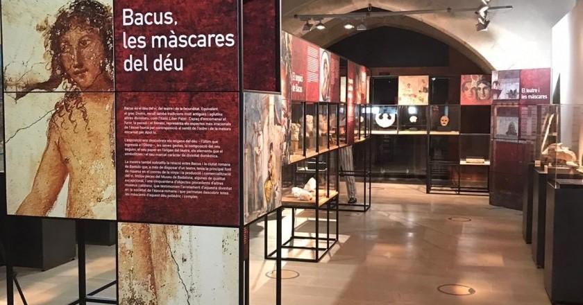 Exposició Bacus les màscares del déu al VINSEUM