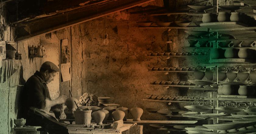 Exposició Can Salamó i els colors de la terrissa al Terracotta Museu