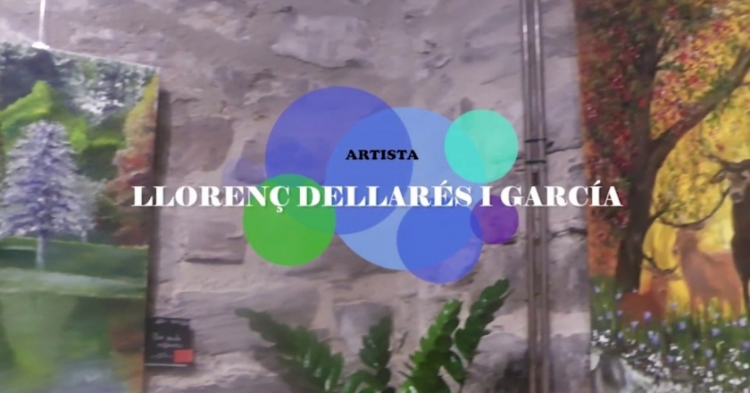 Exposició de pintures Llorenç Dellarés Garcia a Els Plans de Sió