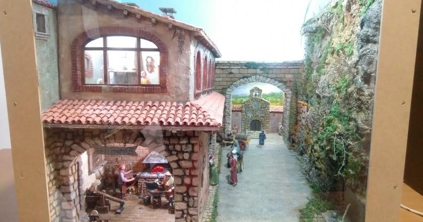 Exhibition of the Avià miniature manger contest