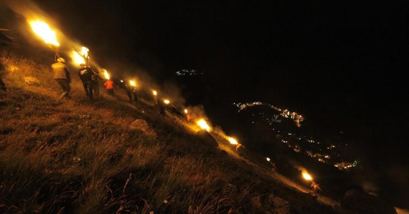 Festa de les Falles de Taüll a la Vall de Boí