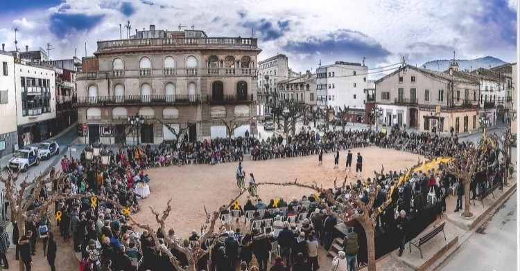 Feast of San Antonio Abad in Sant Feliu de Codines