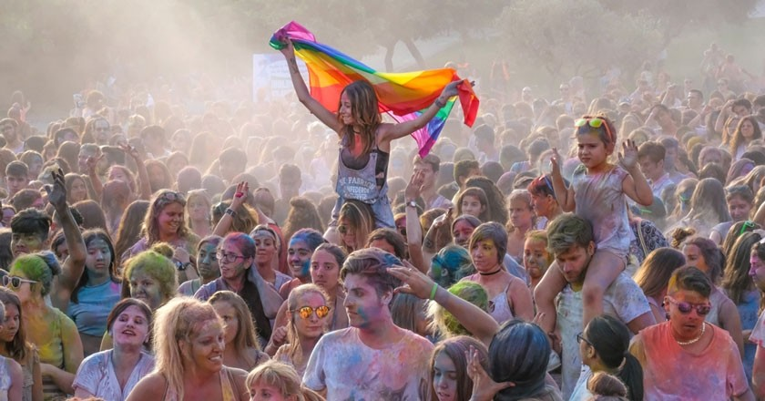 Holi party in Viladecans