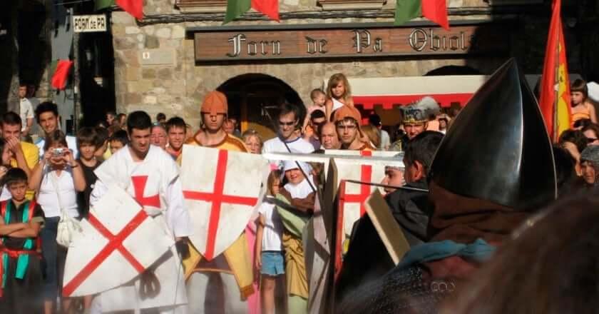 Festes de la Baronia de Pinós a Bagà