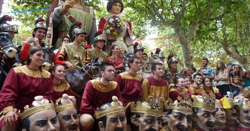 Fiestas del Tura à Olot