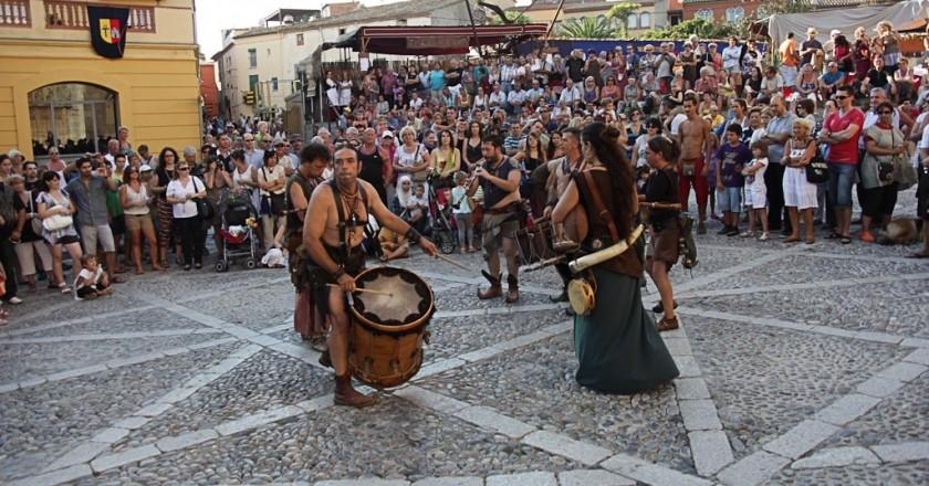 Festival Medieval Terra de Trobadors de Castelló d'Empúries