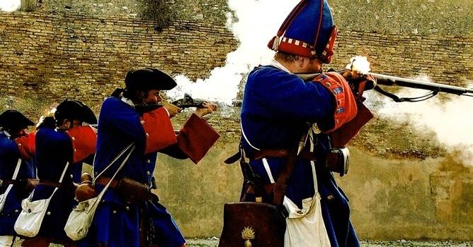 1708 El asedio de Tortosa
