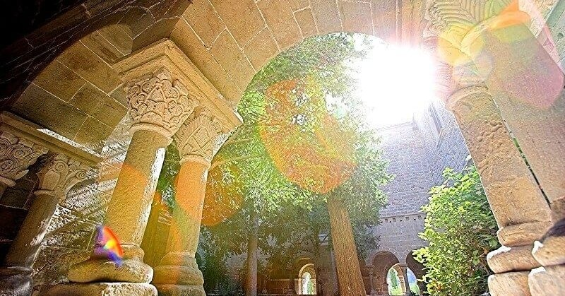 Histoires de vin au monastère de Sant Benet
