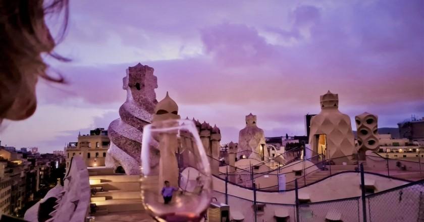 La Pedrera avec DO-Sunsets of wine