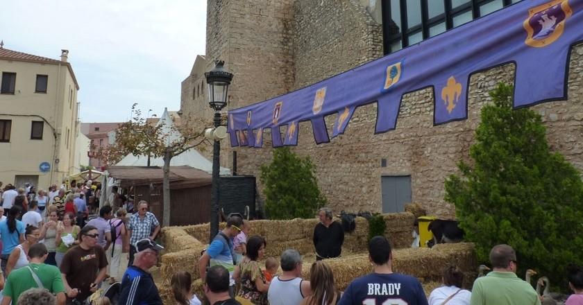 Marché médiéval à Hospitalet de l'Infant