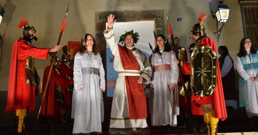 Crèche vivante à Can Ratés à Santa Susanna