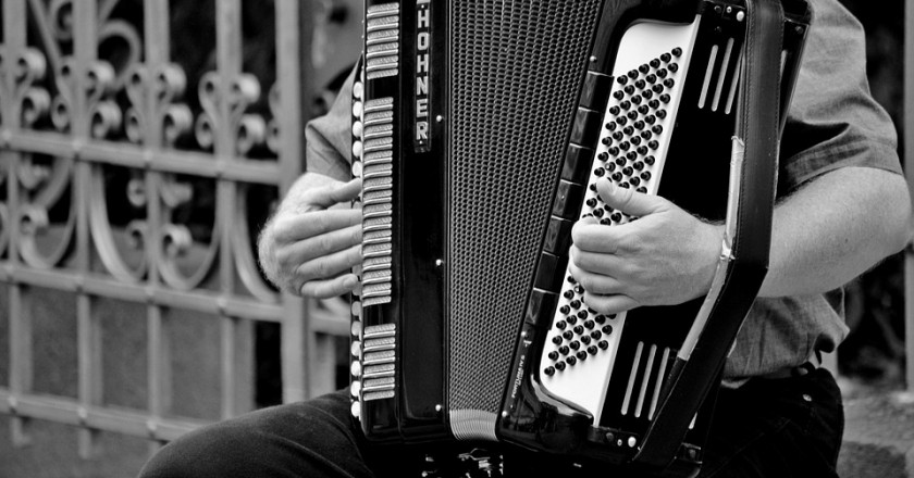 Accordionists meeting in Puig-reig