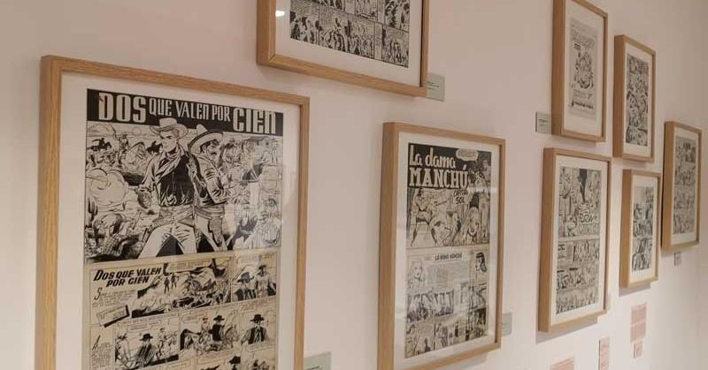 Visita al Museu del còmic i la il·lustració de Sant Cugat del Vallès