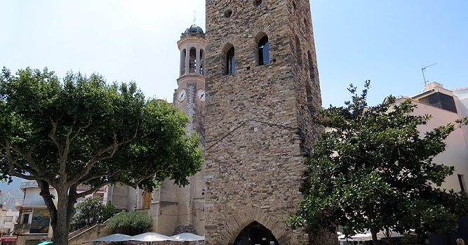 Visitez la tour romane de Llançà