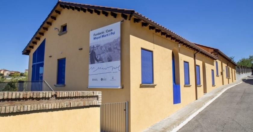 Agenda: Visitas comentadas a la Fundación Miquel Martí i Pol (01/05/2021)   femturisme