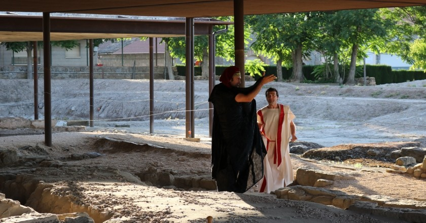 Dramatized visits in Guissona