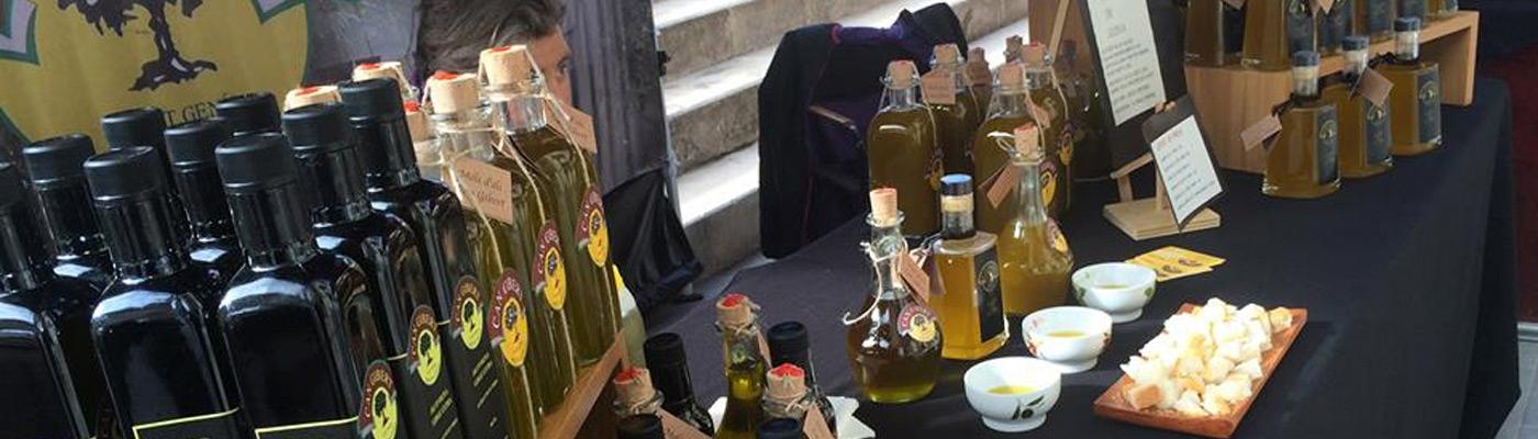 Fair oil and bread in Pobla de Llillet