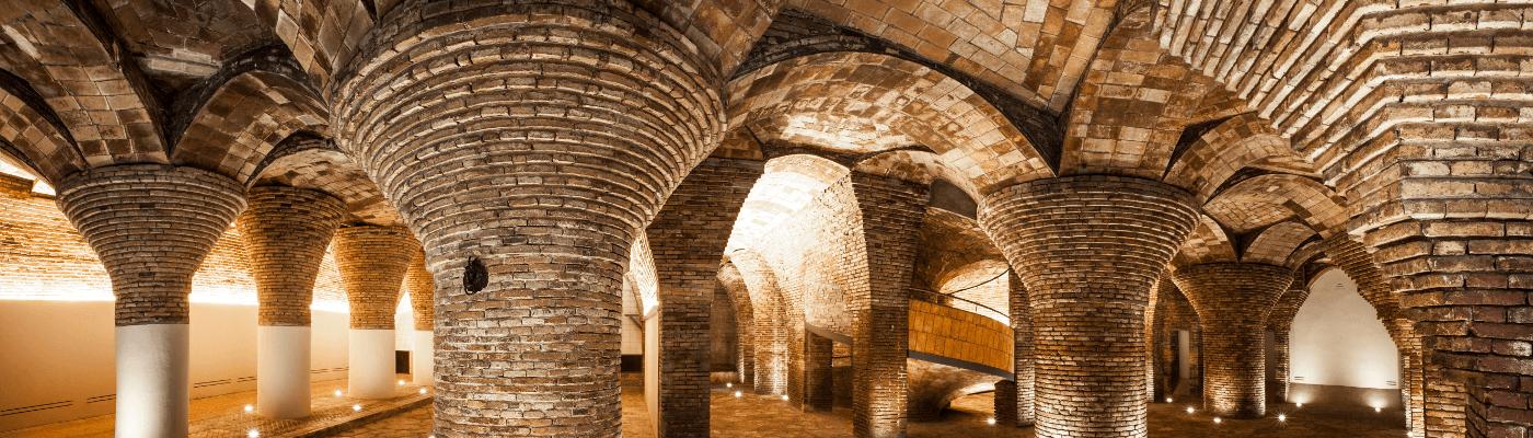 Los Güell sur la Rambla. Quatre palais connectés