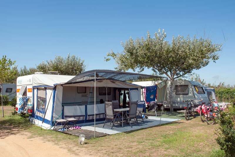 camping playa brava: