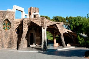 Colònia Güell- Cripta Gaudí