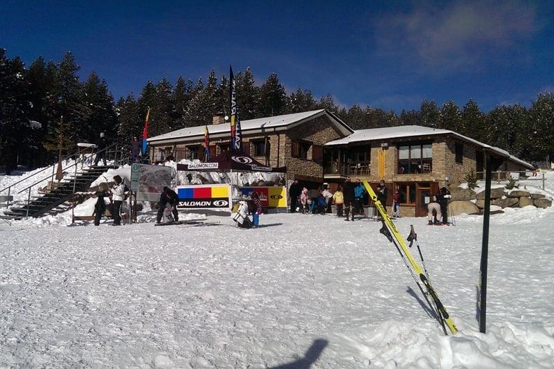 Estació d'esquí nòrdic d'Aransa