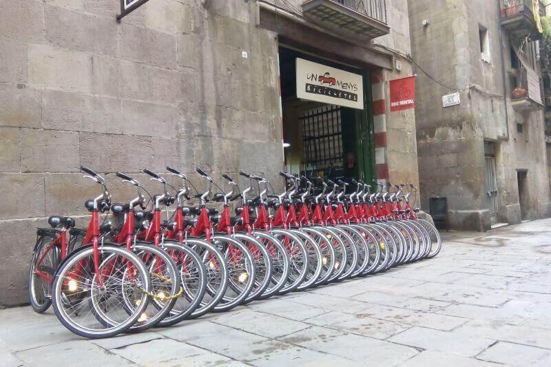 Un Cotxe Menys-Bicicletes