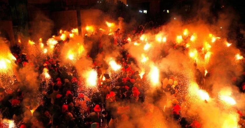 Fire festivities in Catalonia