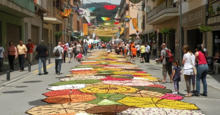 Fiestas del Corpus en Cataluña