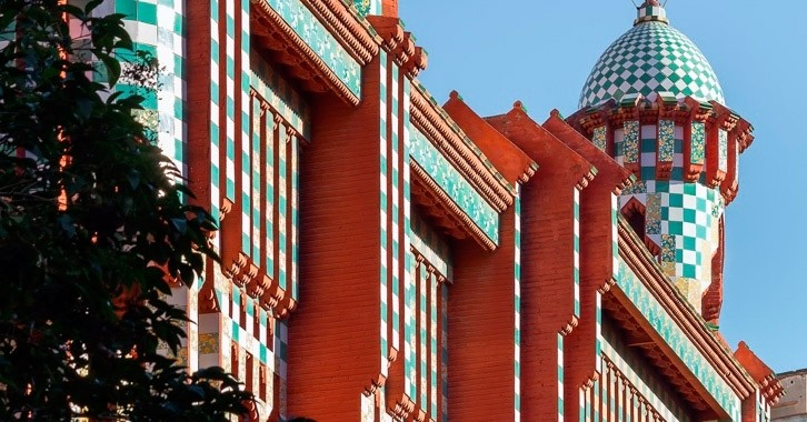 Draw: 1 double entry to visit Casa Vicens