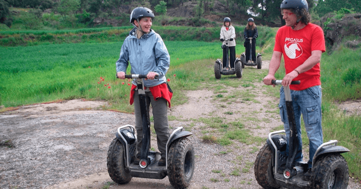 Draw: Segway route in Indòmit Adventure Center