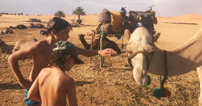 Three Kings Week in Morocco with children. Beyond the desert!